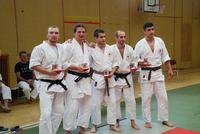 III место мужские командные танто рандори