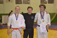 призёры нашего клуба - Кадзе-но-рю в соревнования по Томики айкидо в категории мужские танто рандори