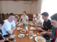 последний обед в излюбленном нами диеткафе