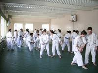 Тренировочный процесс. Семинар Томики айкидо в 2007 году