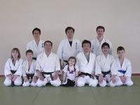 Ребята из Московского клуба Томики айкидо. Детский Семинар Томики айкидо в 2007 году