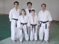 Наиболее решительные и смелые ребята из Клуба Томики айкидо.