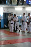 Но, наконец-то они закончились. Дети, которые победили в соревнованиях, получили свои медали и начались бои (танто рандори) для взрослых. Сначала для девушек.