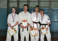 Кое кто из нашей команды получил свои медали и дипломы.