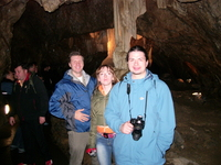 Чешские пещеры. Осмотр достопримечательностей.