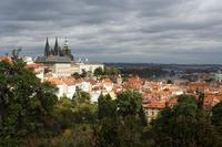 Один из фантастических видов Праги