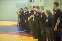 Судейская бригада. Открытые всероссийские соревнования по Томики Айкидо