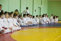 Участники детских соревнований по Томики айкидо